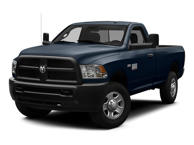 True Blue Pearlcoat 2015 Ram Truck 3500 Pictures 3500 Regular Cab Tradesman 2WD photos front view