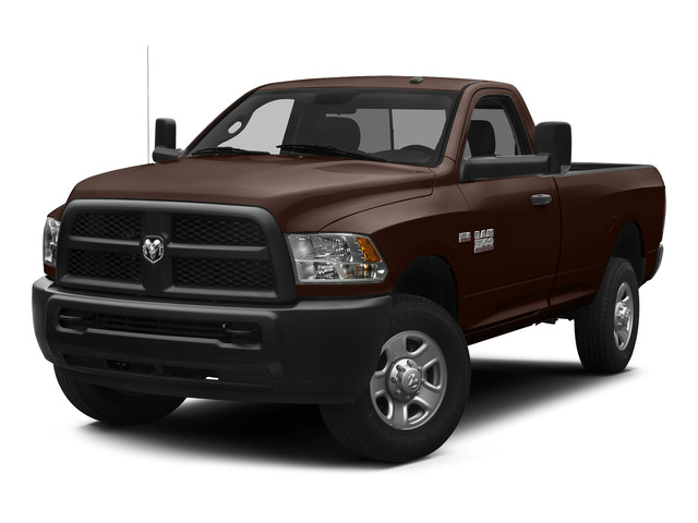 Western Brown 2015 Ram Truck 3500 Pictures 3500 Regular Cab Tradesman 2WD photos front view