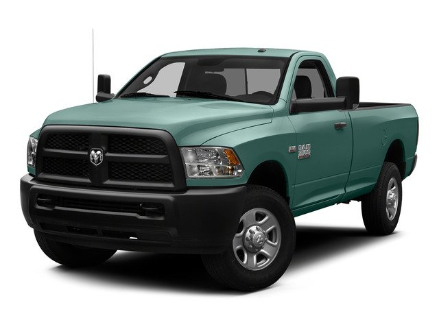 Light Green 2015 Ram Truck 3500 Pictures 3500 Regular Cab Tradesman 2WD photos front view