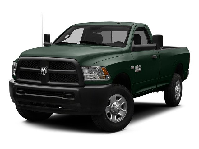Black Forest Green Pearlcoat 2015 Ram Truck 3500 Pictures 3500 Regular Cab Tradesman 2WD photos front view