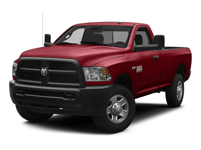 Flame Red Clearcoat 2015 Ram Truck 3500 Pictures 3500 Regular Cab Tradesman 2WD photos front view