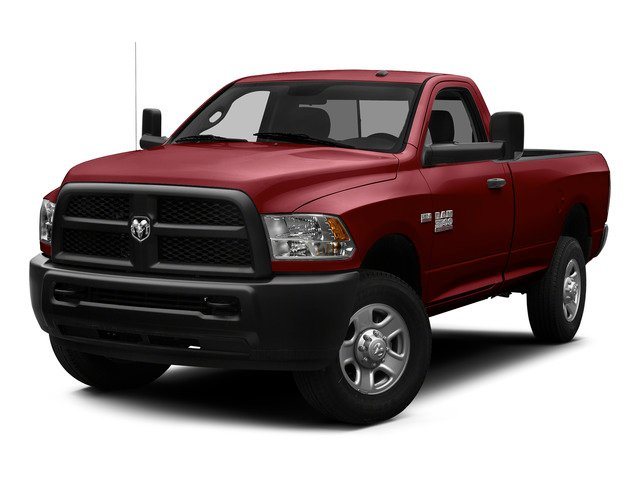 Deep Cherry Red Crystal Pearlcoat 2015 Ram Truck 3500 Pictures 3500 Regular Cab Tradesman 2WD photos front view