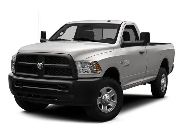 Bright Silver Metallic Clearcoat 2015 Ram Truck 3500 Pictures 3500 Regular Cab Tradesman 2WD photos front view