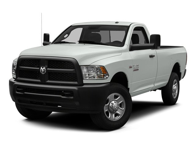 Bright White Clearcoat 2015 Ram Truck 3500 Pictures 3500 Regular Cab Tradesman 2WD photos front view