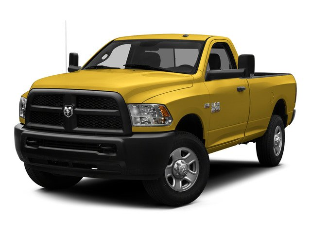 Detonator Yellow Clearcoat 2015 Ram Truck 3500 Pictures 3500 Regular Cab Tradesman 2WD photos front view