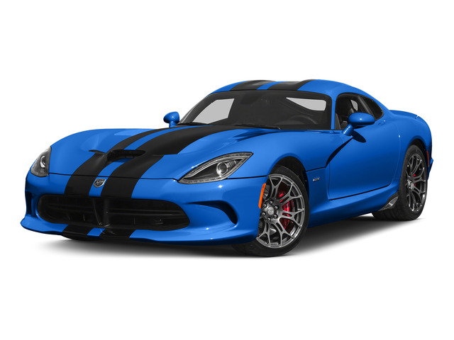 Competition Blue Pearl Coat 2015 Dodge Viper Pictures Viper 2 Door Coupe photos front view