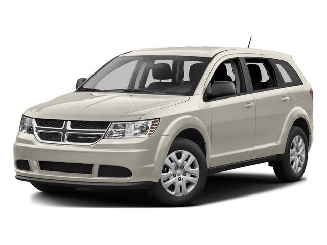 White 2015 Dodge Journey Pictures Journey Utility 4D SE 2WD photos front view