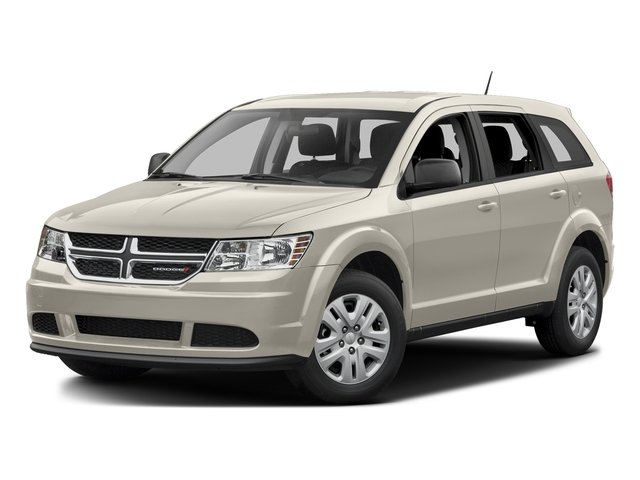 Pearl White Tri-Coat 2015 Dodge Journey Pictures Journey Utility 4D SE 2WD photos front view