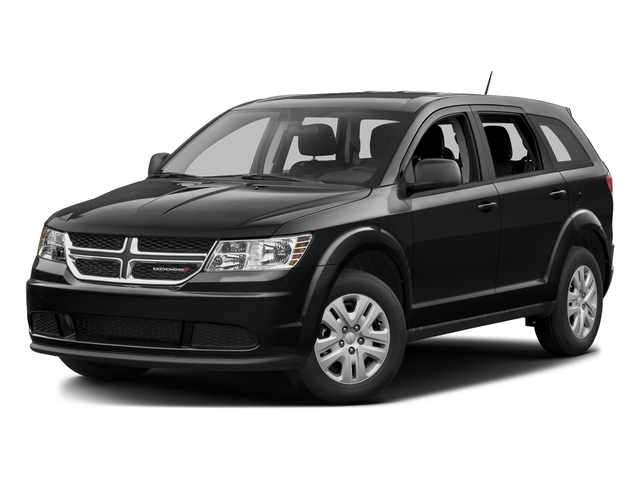 Pitch Black Clearcoat 2015 Dodge Journey Pictures Journey Utility 4D SE 2WD photos front view