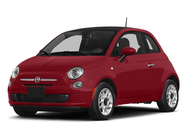 Rosso (Red) 2015 FIAT 500 Pictures 500 Hatchback 3D Sport I4 photos front view