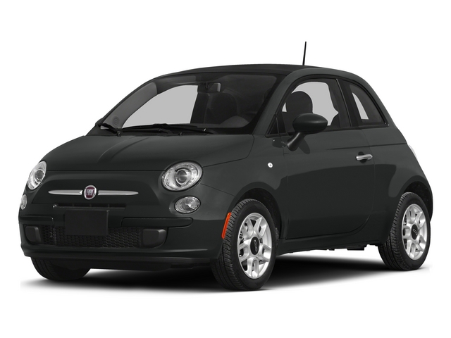 Nero Puro (Straight Black) 2015 FIAT 500 Pictures 500 Hatchback 3D Sport I4 photos front view