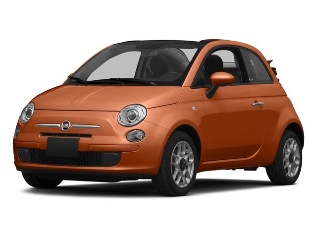 Rame (Copper) 2015 FIAT 500c Pictures 500c Convertible 2D Lounge I4 photos front view