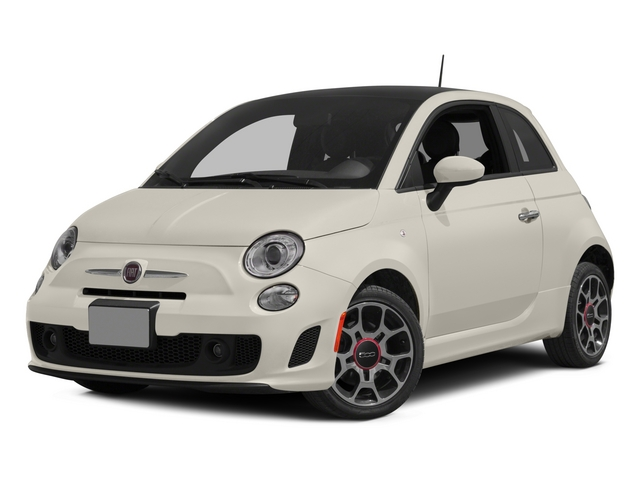 Bianco (White) 2015 FIAT 500 Pictures 500 Hatchback 3D I4 Turbo photos front view
