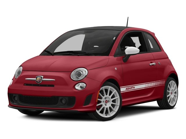 Rosso (Red) 2015 FIAT 500 Pictures 500 Hatchback 3D Abarth I4 photos front view