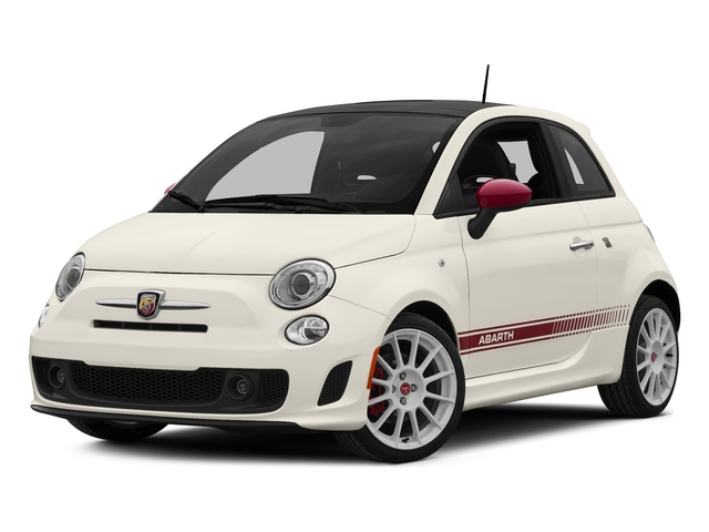 Bianco (White) 2015 FIAT 500 Pictures 500 Hatchback 3D Abarth I4 photos front view