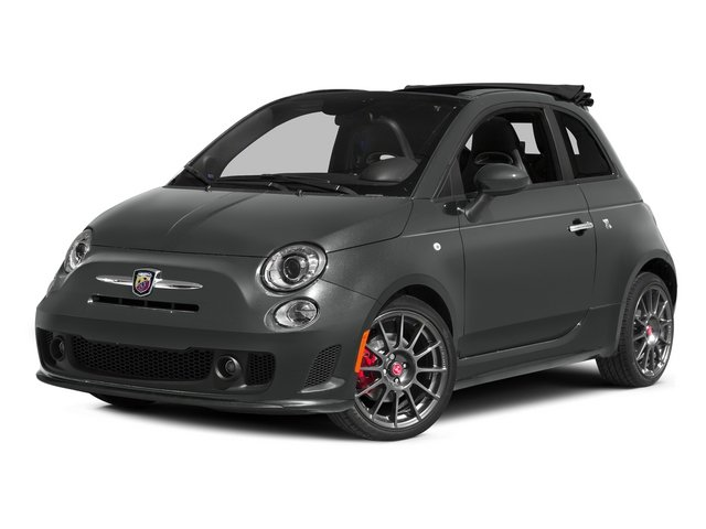 Granito Lucente (Granite Crystal) 2015 FIAT 500c Pictures 500c Convertible 2D Abarth I4 photos front view