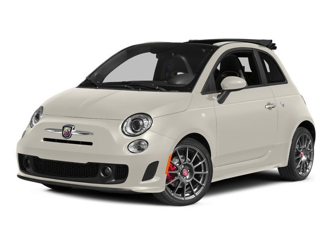 Bianco (White) 2015 FIAT 500c Pictures 500c Convertible 2D Abarth I4 photos front view