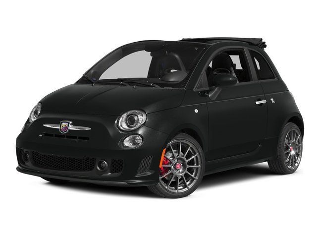 Nero Puro (Straight Black) 2015 FIAT 500c Pictures 500c Convertible 2D Abarth I4 photos front view