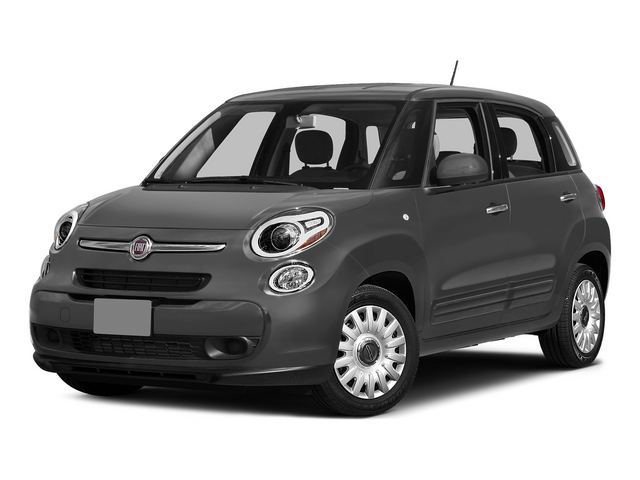 Grigio Scuro (Gray Metallic) 2015 FIAT 500L Pictures 500L Hatchback 5D L Easy I4 Turbo photos front view