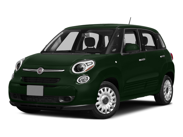 Verde Bosco Perla (Forest Green) 2015 FIAT 500L Pictures 500L Hatchback 5D L Easy I4 Turbo photos front view