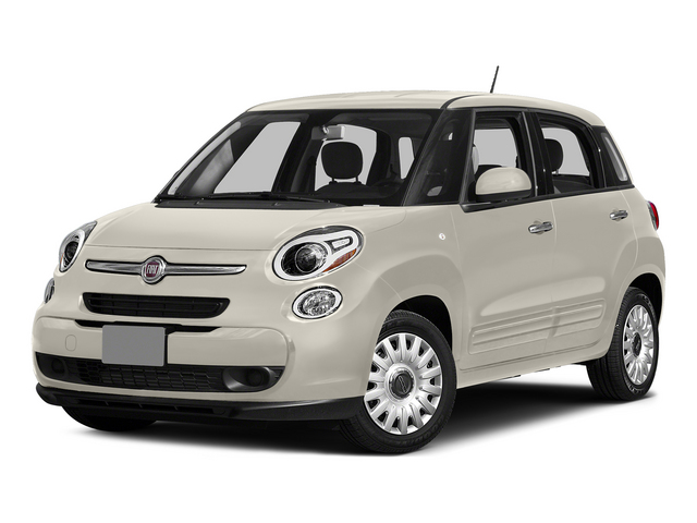 Bianco (White) 2015 FIAT 500L Pictures 500L Hatchback 5D L Easy I4 Turbo photos front view