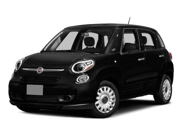 Nero (Black) 2015 FIAT 500L Pictures 500L Hatchback 5D L Easy I4 Turbo photos front view