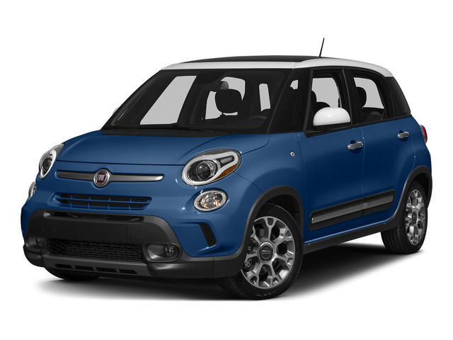Blue Tornado 2015 FIAT 500L Pictures 500L Hatchback 5D L Trekking I4 Turbo photos front view