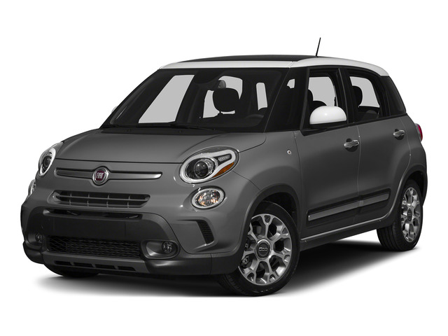 Grigio Scuro (Gray Metallic) 2015 FIAT 500L Pictures 500L Hatchback 5D L Trekking I4 Turbo photos front view