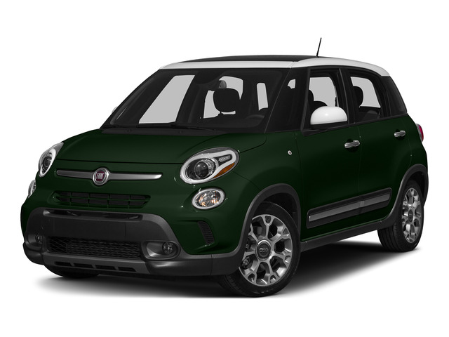Verde Bosco Perla (Forest Green) 2015 FIAT 500L Pictures 500L Hatchback 5D L Trekking I4 Turbo photos front view