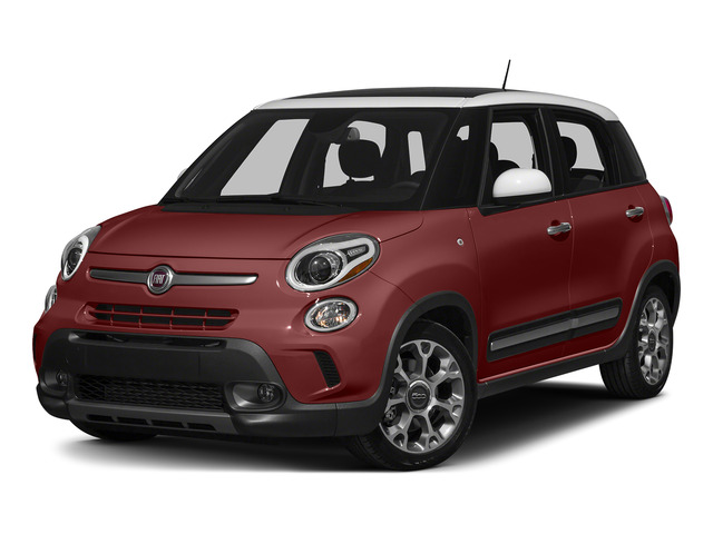 Rosso Perla (Deep Lava Red Pearl) 2015 FIAT 500L Pictures 500L Hatchback 5D L Trekking I4 Turbo photos front view