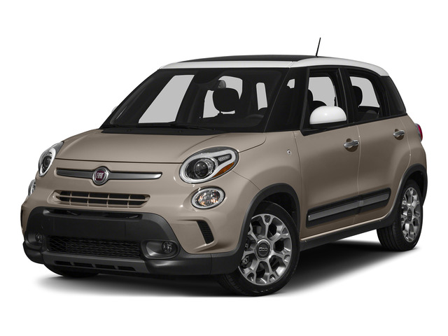 Mocha Latte 2015 FIAT 500L Pictures 500L Hatchback 5D L Trekking I4 Turbo photos front view