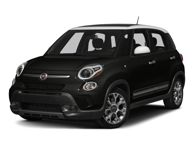 Nero (Black) 2015 FIAT 500L Pictures 500L Hatchback 5D L Trekking I4 Turbo photos front view
