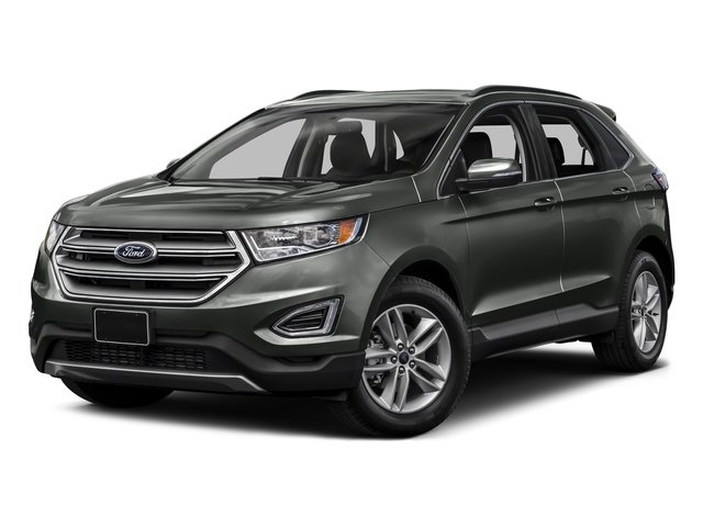 Magnetic Metallic 2015 Ford Edge Pictures Edge Utility 4D SE AWD I4 Turbo photos front view
