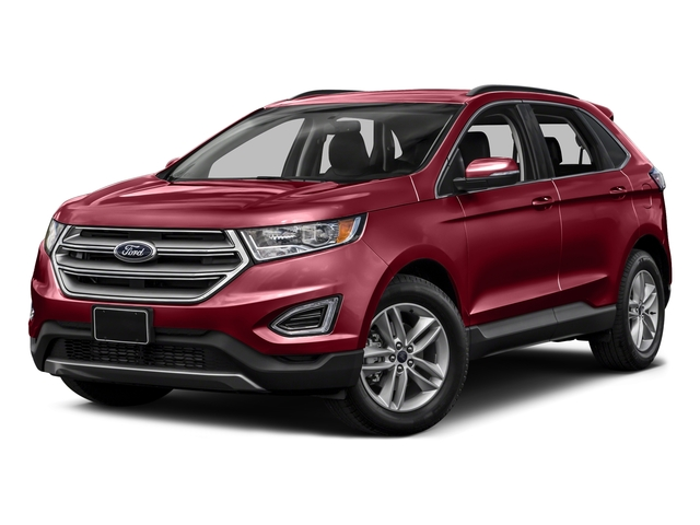 Ruby Red Metallic Tinted Clearcoat 2015 Ford Edge Pictures Edge Utility 4D Titanium 2WD V6 photos front view