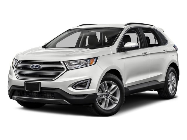White Platinum Metallic Tri-Coat 2015 Ford Edge Pictures Edge Utility 4D Titanium 2WD V6 photos front view