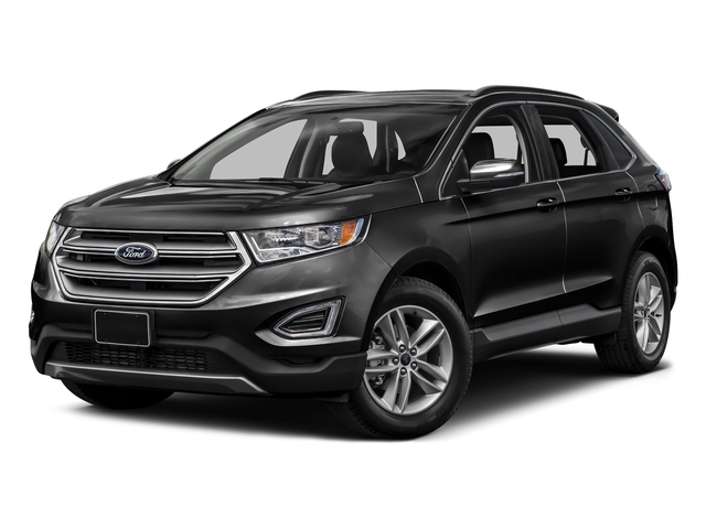 Tuxedo Black Metallic 2015 Ford Edge Pictures Edge Utility 4D Titanium 2WD V6 photos front view