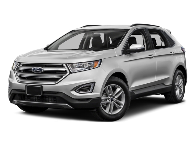 Ingot Silver Metallic 2015 Ford Edge Pictures Edge Utility 4D Titanium 2WD V6 photos front view