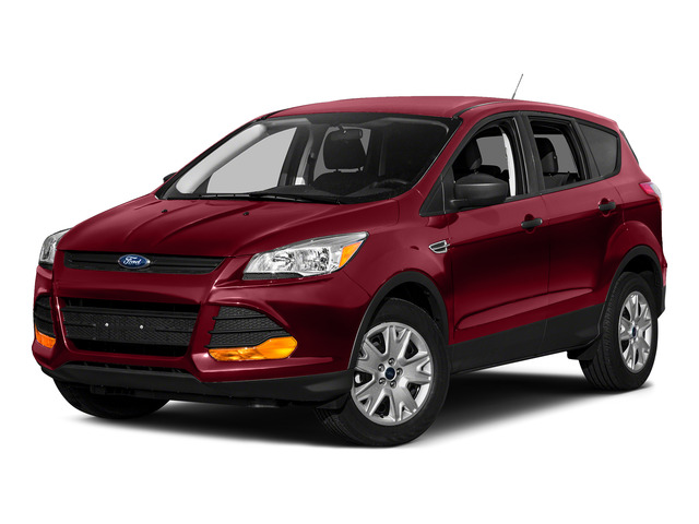 Ruby Red Metallic Tinted Clearcoat 2015 Ford Escape Pictures Escape Utility 4D SE 4WD photos front view