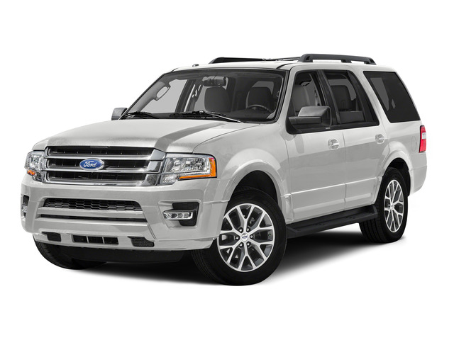 Oxford White 2015 Ford Expedition Pictures Expedition Utility 4D XL 2WD photos front view
