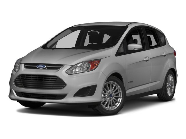 Ingot Silver 2015 Ford C-Max Hybrid Pictures C-Max Hybrid Hatchback 5D SEL I4 Hybrid photos front view