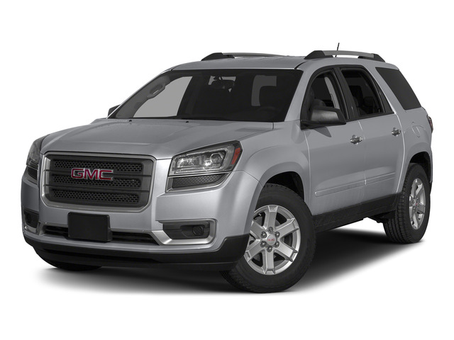 Quicksilver Metallic 2015 GMC Acadia Pictures Acadia Utility 4D SLT AWD photos front view