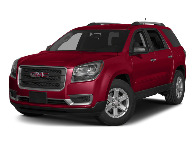 Crimson Red Tintcoat 2015 GMC Acadia Pictures Acadia Utility 4D SLT AWD photos front view