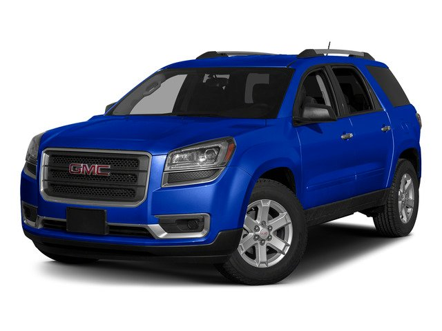 Dark Sapphire Blue Metallic 2015 GMC Acadia Pictures Acadia Utility 4D SLT AWD photos front view