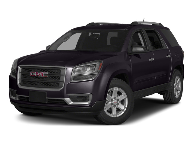 Midnight Amethyst Metallic 2015 GMC Acadia Pictures Acadia Utility 4D SLT AWD photos front view