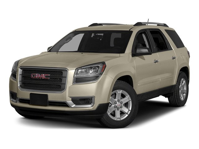 Champagne Silver Metallic 2015 GMC Acadia Pictures Acadia Utility 4D SLT 2WD photos front view