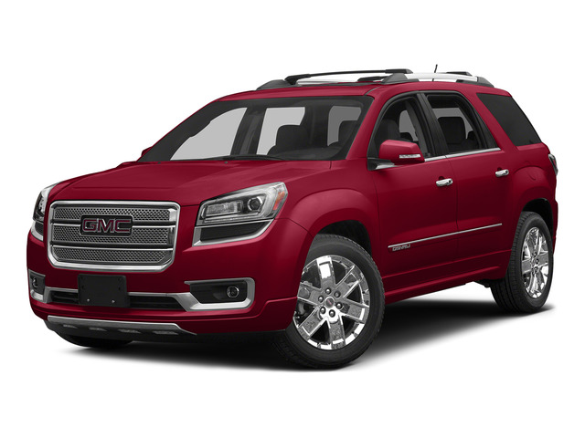Crimson Red Tintcoat 2015 GMC Acadia Pictures Acadia Utility 4D Denali 2WD photos front view