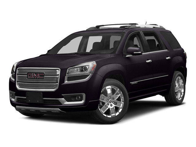 Midnight Amethyst Metallic 2015 GMC Acadia Pictures Acadia Utility 4D Denali 2WD photos front view