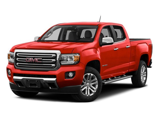 Cardinal Red 2015 GMC Canyon Pictures Canyon Crew Cab SLT 2WD photos front view