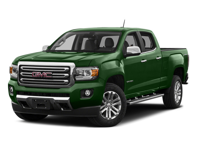 Emerald Green Metallic 2015 GMC Canyon Pictures Canyon Crew Cab SLT 2WD photos front view