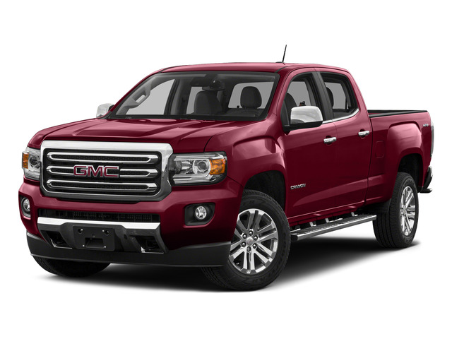 Copper Red Metallic 2015 GMC Canyon Pictures Canyon Crew Cab SLT 2WD photos front view